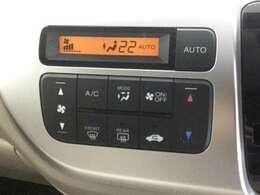 操作性の良いエアコンのコントロールパネルです!オートエアコンです。