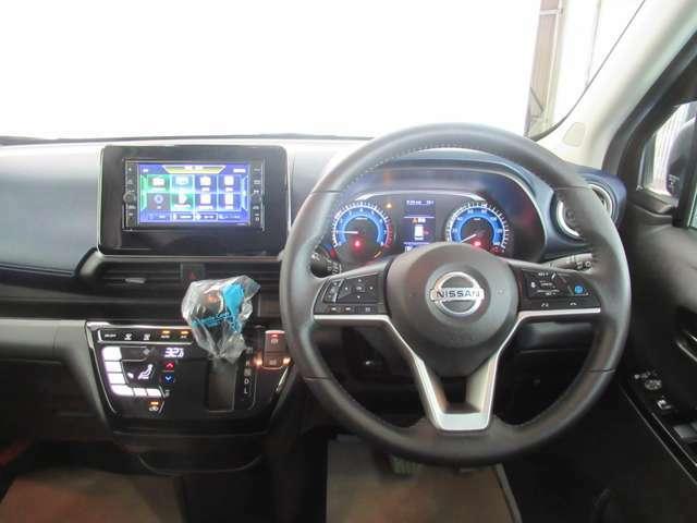 視界良好で運転しやすい車です
