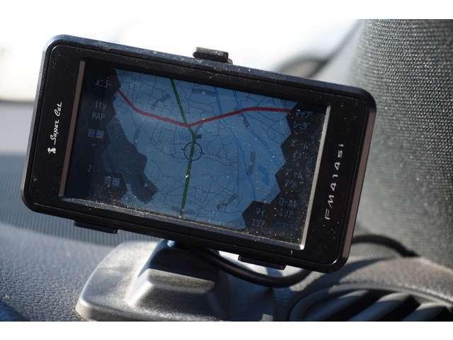 社外レーダー探知機