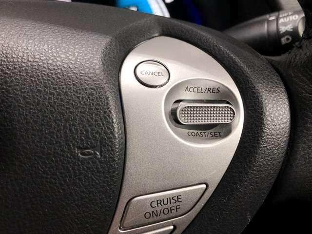 【クルーズコントロール】高速道路などで一定の速度を保つ際、アクセルなしでスピードが維持できるためとても便利です★長距離運転で快適かつスムーズな運転が可能です★
