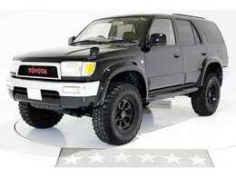 4WD リフトアップ タイミングベルト交換済 ヴィンテージグリル 電動サンルーフ ブラックレザー調シートカバー キーレス HIDヘッドライト 社外16インチアルミホイール ディーゼルターボ