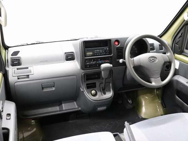 ルームクリーニング施工済!気になる内装の汚れやにおいなども少なく快適にご乗車いただけます。