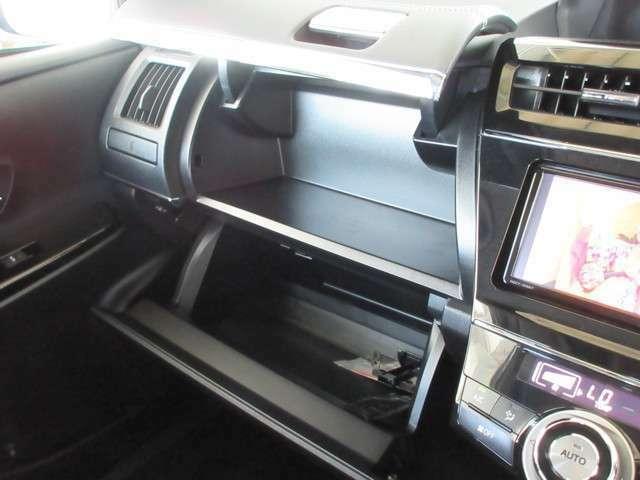 収納は各所に装備していますから車内はいつもスッキリ!!これであなたも収納名人になれるかも・・・?