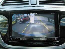 バックカメラ付です!駐車時も安心ですね!