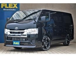 トヨタ ハイエースバン 2.8 DX ロング GLパッケージ ディーゼルターボ FLEXCUSTOM・ナビETCベッド付き