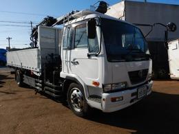 UDトラックス コンドル ヒアブクレーン 積載5500kg スクラップ車