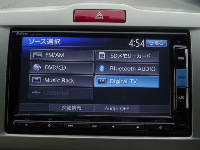 スマートフォンの音楽を手軽に再生♪bluetoothオーディオ機能付き♪