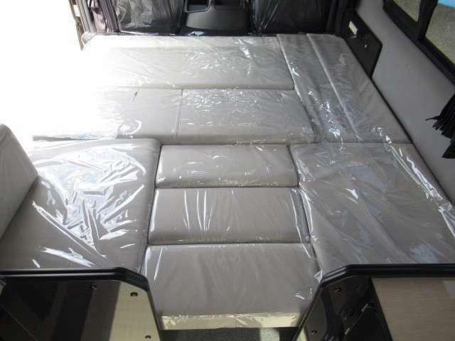 ダイネットベットは広々と3名様分の就寝スペースとなります♪
