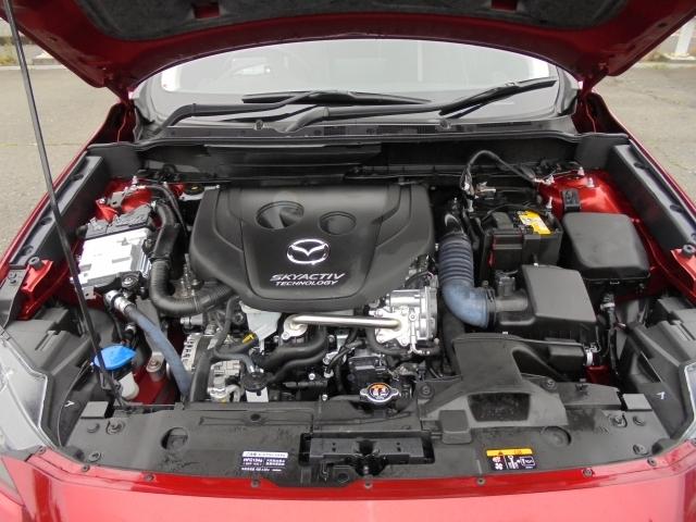 余裕ある走りと、実用燃費の向上を目指したクリーンディーゼルエンジンSKYACTIV-D搭載をしています!