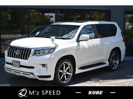 トヨタ ランドクルーザープラド 2.8 TX ディーゼルターボ 4WD 7人乗 SR Cセンサー ZEUS新車コンプリート