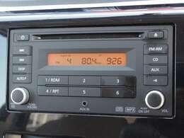 純正CDオーディオ付です♪音楽を聴きながらのドライブも十分楽しめますね♪