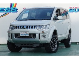 三菱 デリカD:5 2.2 D パワーパッケージ ディーゼルターボ 4WD 新品4インチアップ 8人乗 4WD/0489