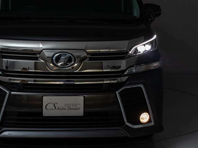 ライトアップフロントビュー!LED・フォグHID・ヘッドライト変更なども伺います。