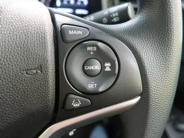 【アダプティブクルーズコントロール】高速道路での長距離走行が楽に!!自動で速度を保つクルーズコントロールが、衝突軽減システムと連携し、前方の車両を感知して車間を保つように速度調節してくれます!!