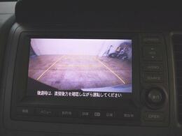 ●装備2● 駐車ガイド付きバックカメラ|