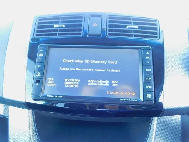 TV付ナビ CDやタッチパネルの操作も問題ありません