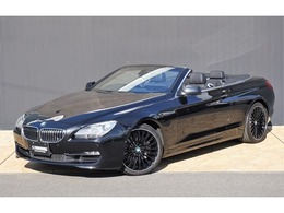BMW 6シリーズカブリオレ 640i 黒革 黒TOP 純正OP20インチAW