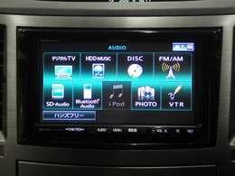 オーディオソースも充実なPanasonic CN-HW890D HDDナビが装備されています