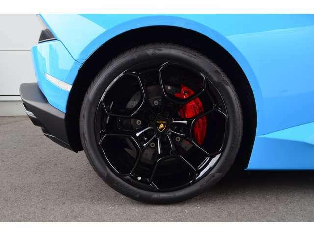 メーカーオプション:レッドカーボンブレーキ