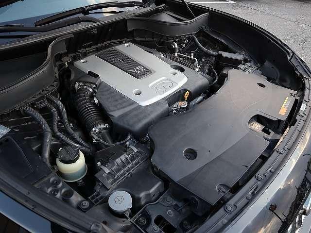 V6 3.5Lエンジン ボディサイズを感じさせません。