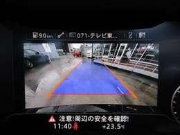 純正ナビ付き♪ ガイド線付バックカメラで駐車も安心ですね♪ メーターパネルがモニターとなります♪