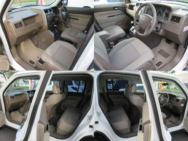 クライスラーパトリオット最終型の希少SUVコンパクトで人気のモケットツートンシート内装で 綺麗に仕上がってます、
