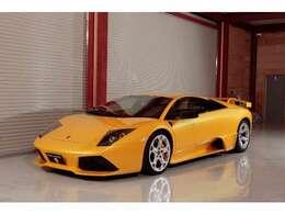 MURCIELAGO LP620 ディーラー車 2005y(マイナーチェンジモデル) イエローパール(GIALLO ORION)  ドライカーボンインテリア 純正LP640エアロ&マフラー ヘラクレスホイール