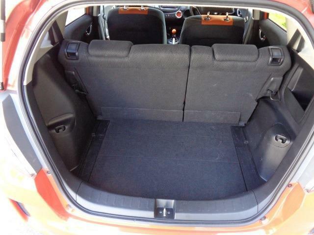 開口部が広く、荷物の積み込みも楽にできます。