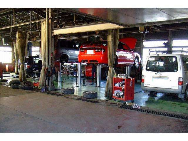 Aプラン画像:提携する運輸局指定整備工場で車検・点検整備を実施後にご納車の為、安心です。