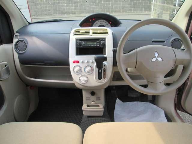 綺麗な車内です。