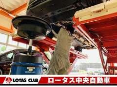 認証工場完備で安心のカーライフをサポートいたします。