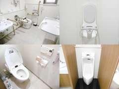 多目的トイレやおむつ交換台も完備でお子様連れの方も安心です♪アメニティもご用意しております。ご家族皆様でお越し下さいね。
