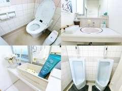 お手洗いはスタッフで毎日清掃を徹底しております。女性に嬉しいアメニティもございますので、お気軽にご利用ください♪