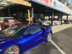 高級車から低額車まで上質車を展示販売致しております。