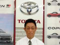 車両販売担当の柳澤です。お客様の安心安全のカーライフは私にお任せください!ご来店を心よりお待ちしております。