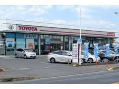 茨城トヨタ北茨城店です。お気軽にご来店、お電話をお願いいたします。中古車は「深谷」までお問合せください。