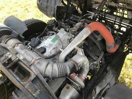 型式:PA-FK71D  原動機の型式:4M50  排気量:4890cc 燃料:軽油 ターボ:有