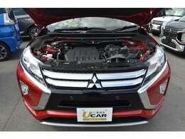 1.5L直噴ターボエンジンで爽快な走りと環境性能を両立。
