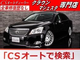 トヨタ クラウンマジェスタ 4.6 Aタイプ 黒本革 サンルーフ カールソン20インチ