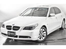 BMW 5シリーズ 530i サンルーフ/黒革/純正ナビ/HID