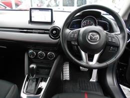 デミオはシンプルな造りで、難しい操作がないので、初めてお車を購入される方でも安心です(^^)♪