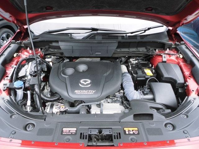 排気量2200CCスカイアクティブディーゼルターボエンジンが搭載されてます。