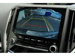 リヤカメラが装備!!駐車の際、これがあれば運転に自信がない方でも安心です!!非常に便利で一度使うと手放せません!!