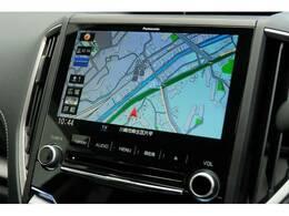 機能とデザインの融合。このビルトインSDナビパナソニックとスバルの共同開発。フルセグTVも装備☆彡安全運転にも寄与します。パナソニック CN-LR850D