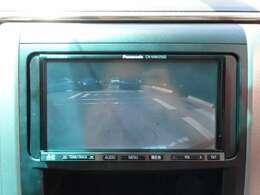 バック駐車も安心のバックカメラです!
