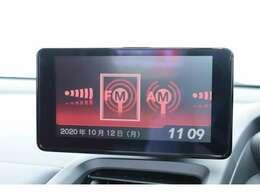○ iPod対応USBプレーヤー/AM・FMチューナー○ センターディスプレイ(internavi POCKET連携対応)