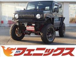 スズキ ジムニー 660 XG 4WD 5速MT リフトアップ 電動ウインチ ナビ