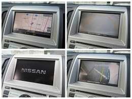 純正DVDナビが装備されております♪画面もクリアで運転中も確認しやすいです♪サイド&バックカメラも装備されております♪サイドカメラは左前方の死角をカバーしてくれます♪