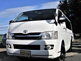 トヨタ ハイエースバン 3.0 DX ロング GLパッケージ ディーゼルターボ 4WD 30DT 5ドア 6人乗り ナビTV