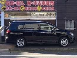 長さ510cm・幅197cm・高さ185cm/エルグランドよりも車格は大きいので迫力あります。